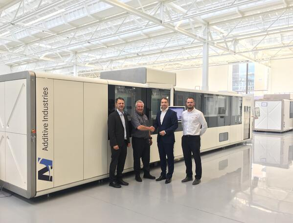 Additive Industries appoints Laser Lines agent for UK and Ireland