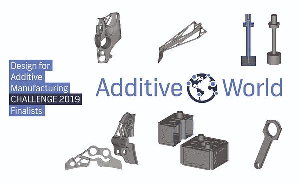 Finalists Design Challenge 2019 accelerate in industrial 3D printing