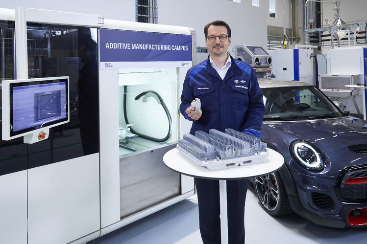 Our customer BMW opens Additive Manufacturing Campus