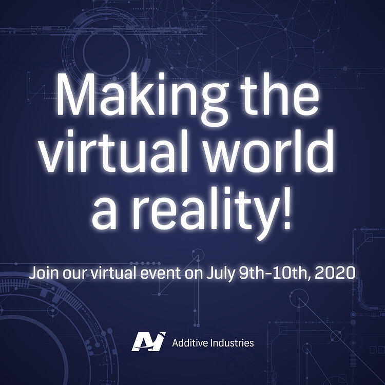 Making the virtual world a reality! Join our virtual event.