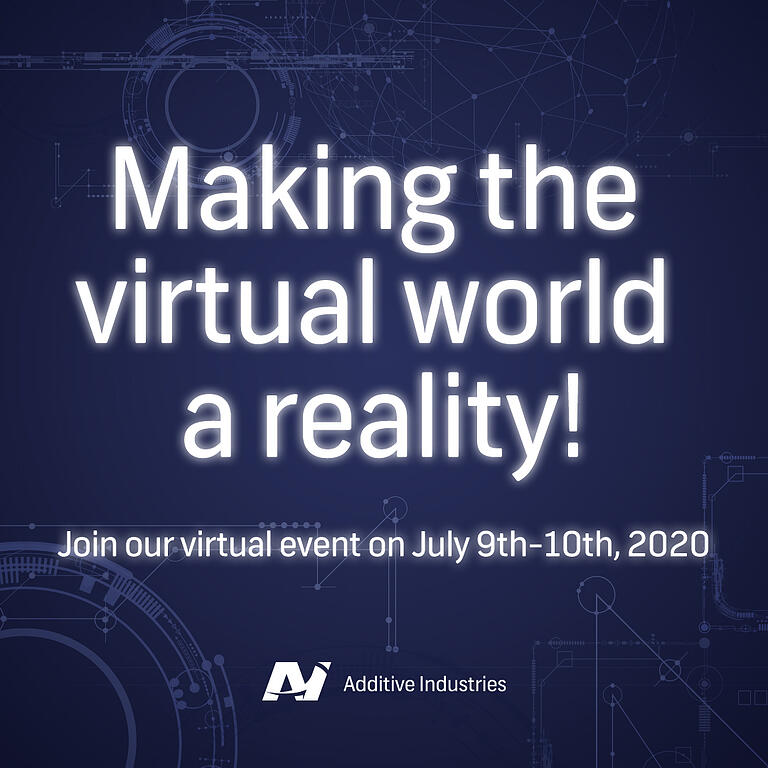 Additive Industries' virtual event