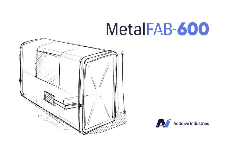 Additive Industries announces new flagship 3D metal printer MetalFAB-600